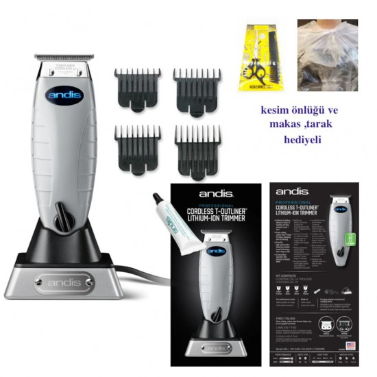 Andis Cordless T-Outliner-74005