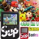 SUP GAME VİDEO OYUN KONSOLU - 400 OYUNLU MİNİ ATARİ GAMEBOY - HEDİYE KUMANDALI